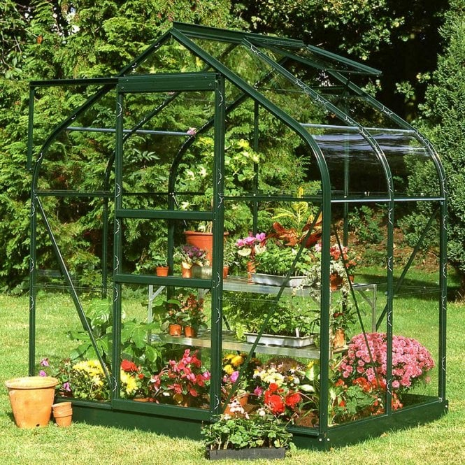 Supreme 6ft X 4ft Greenhouse Green
