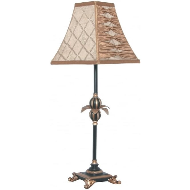 Click to view product details and reviews for Tamara Colonial Style Table Lamp Complete With Shade 64cm.