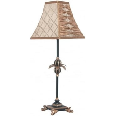 Tamara Colonial Style Table Lamp Complete with Shade 64cm