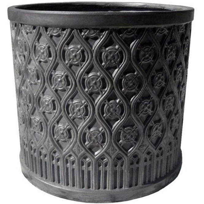 The Pot Co Clayfibre Moroccan Cylinder Planter Available In 5 Sizes
