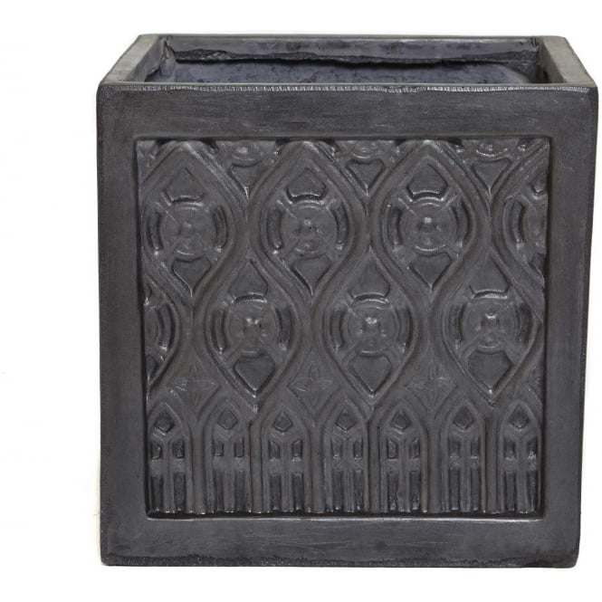 Click to view product details and reviews for The Pot Co Clayfibre Moroccan Square Planter Available In 5 Sizes.