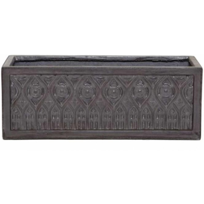The Pot Co Clayfibre Moroccan Trough Planter Available In 3 Sizes