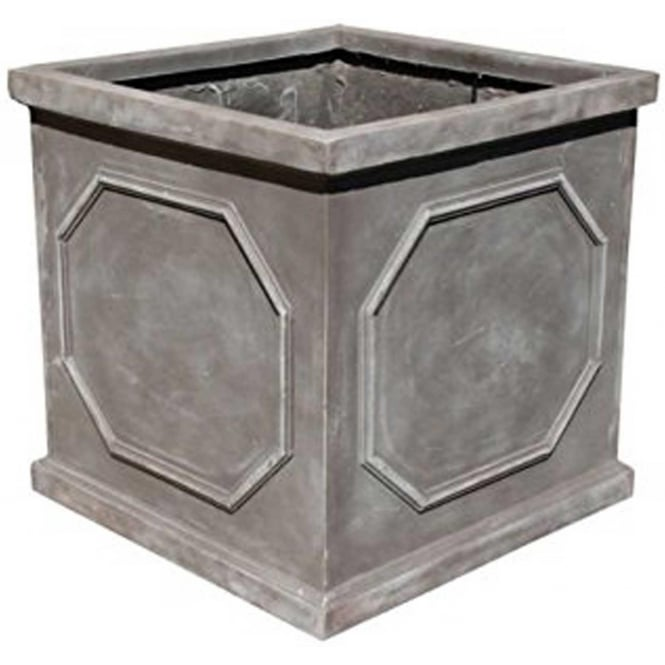 Click to view product details and reviews for The Pot Co Fibrestone Classic Chelsea Box Planter Available In 6 Sizes.
