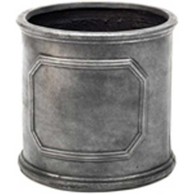 The Pot Co Fibrestone Classic Chelsea Cylinder Planter Available In 5 Sizes