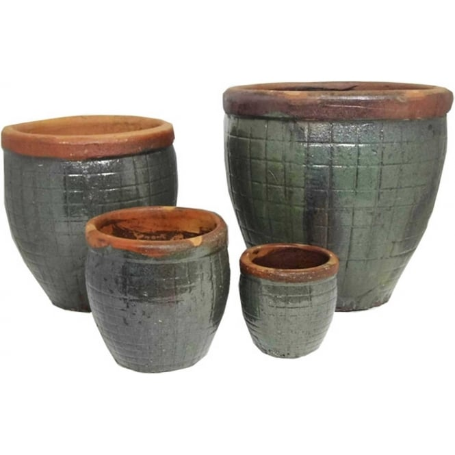 The Pot Co Yakuta Water Jar Fuzhou Planter Available In A Range Of Sizes And Colours