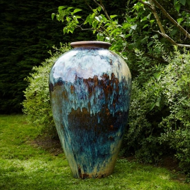 Click to view product details and reviews for The Pot Co Yakuta Water Jar Haikou Planter Range Of Sizes And Colours Available.