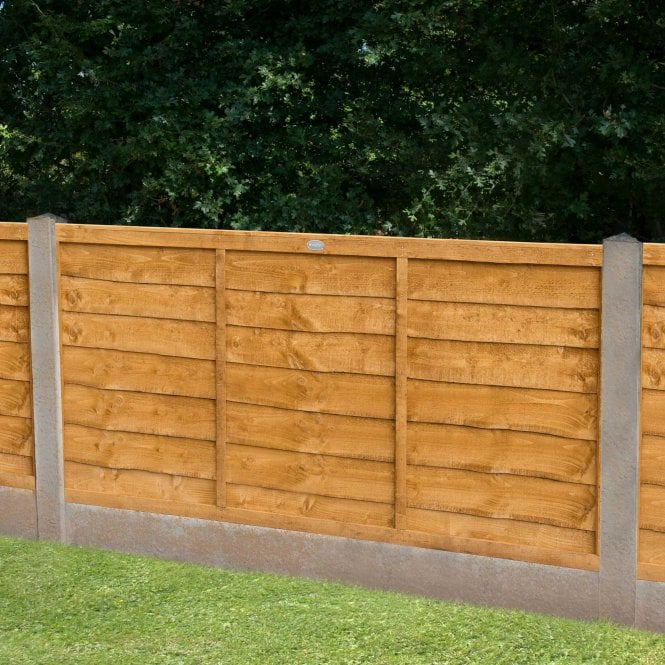 Trade Lap Fence Panel 4 Heights Available
