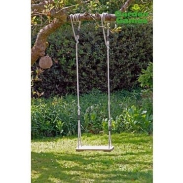 Tree Swing with Traditional Pine Seat