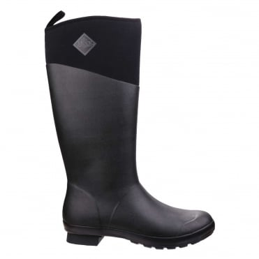 Tremont Matte Tall Boots in Black