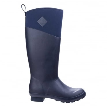Tremont Matte Tall Boots in Navy