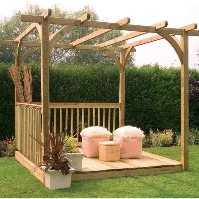 Click to view product details and reviews for Ultima Pergola Deck Kit 25m X 246m.