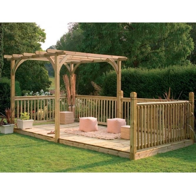 Click to view product details and reviews for Ultima Pergola Deck Kit 488m X 24m.
