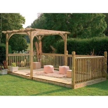Ultima Pergola Deck Kit 4.88m x 2.4m