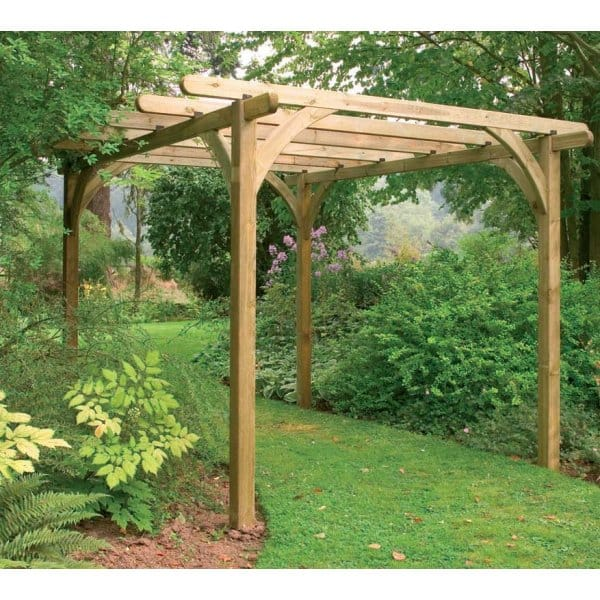 Forest Garden Ultima Pergola Kit 2 Size Options Fsc Approved Timber