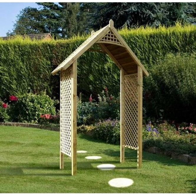 Click to view product details and reviews for Valencia Wooden Garden Arch.