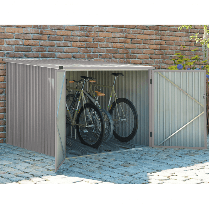 Click to view product details and reviews for Velo 4 Grey Bicycle Shed 6 X 6.