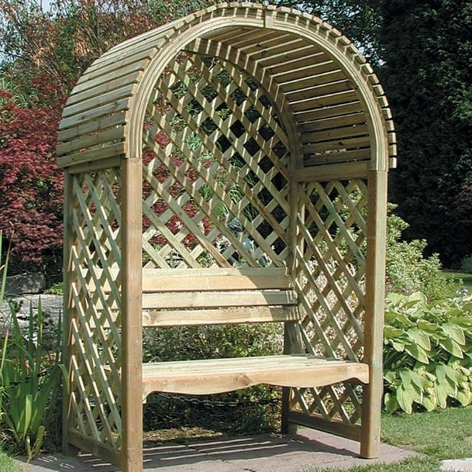 Click to view product details and reviews for Victoria Garden Arbour.