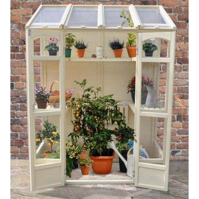 Click to view product details and reviews for Victorian Tall Wall Greenhouse With Auto Vent.