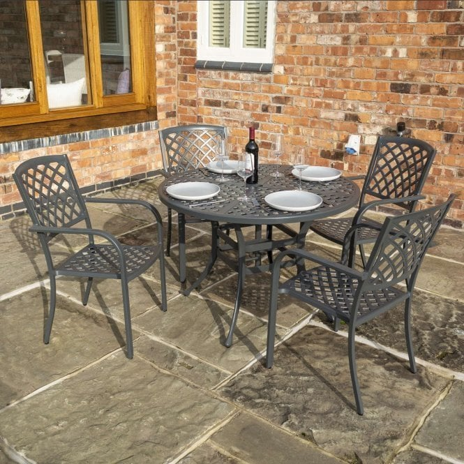 Click to view product details and reviews for Vienna 4 Seat Dining Set.