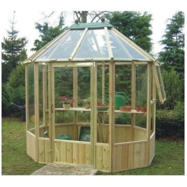 Wellow Octagonal Greenhouse: 3 Sizes