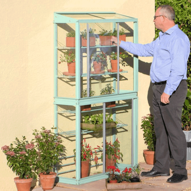 Click to view product details and reviews for Westminster Mini Aluminium Lean To Greenhouse.