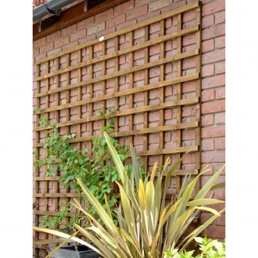 Weston Heavy Duty Square Trellis Dark Brown