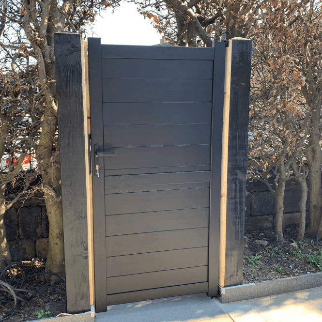 Click to view product details and reviews for Weybridge Aluminium Pedestrian Gate.
