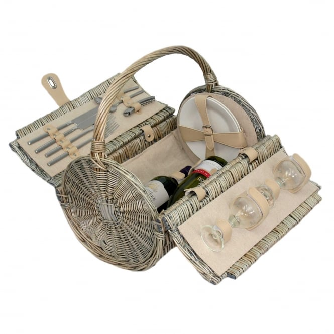 Click to view product details and reviews for Whika Baskets 2 Person Barrel Hamper.