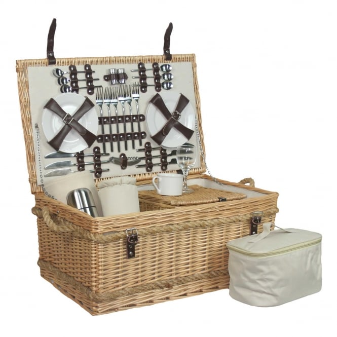 Rope Handled 6 Person Hamper