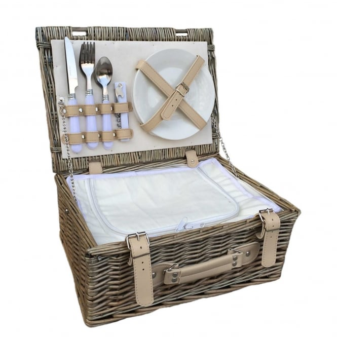 "Willow Direct Baskets 14"" Fitted Chill Hamper"