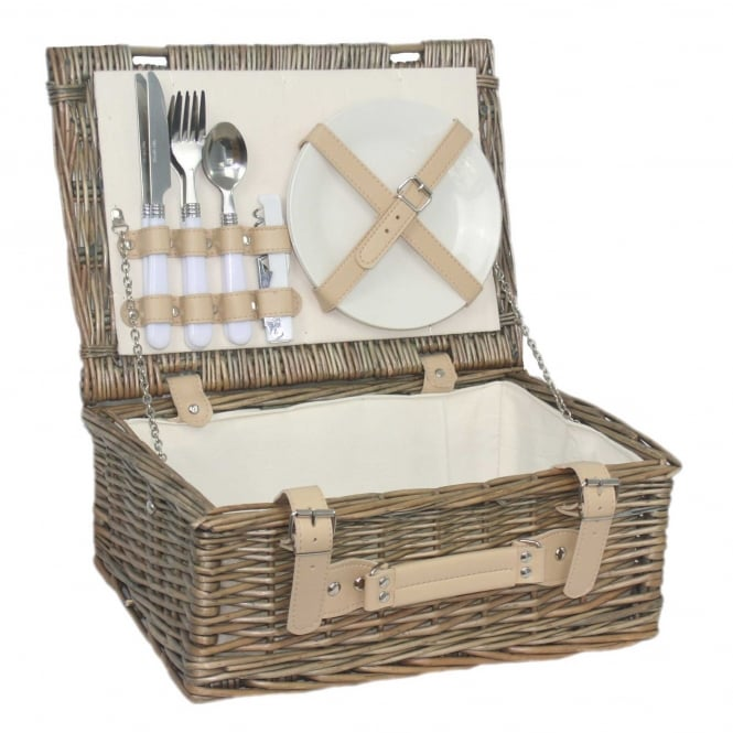 "Click to view product details and reviews for Willow Direct Baskets 14"" Fitted Hamper."