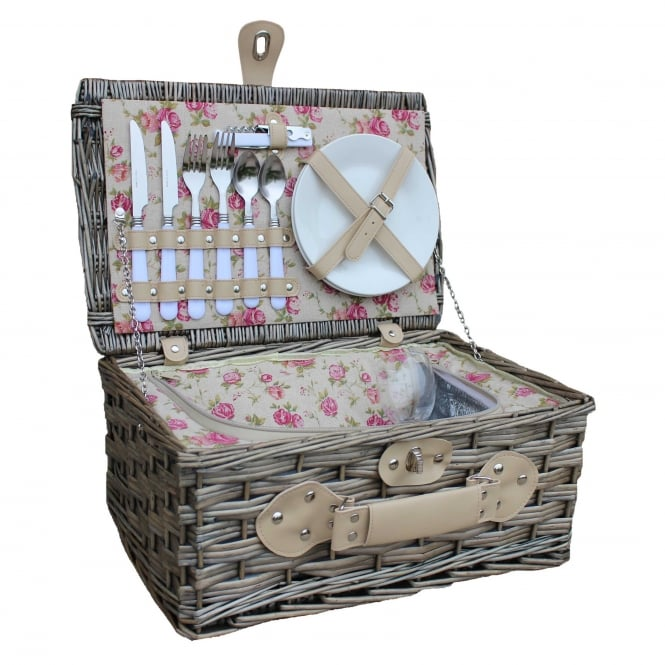 Click to view product details and reviews for Willow Direct Baskets 2 Person Garden Rose Chilled Hamper.