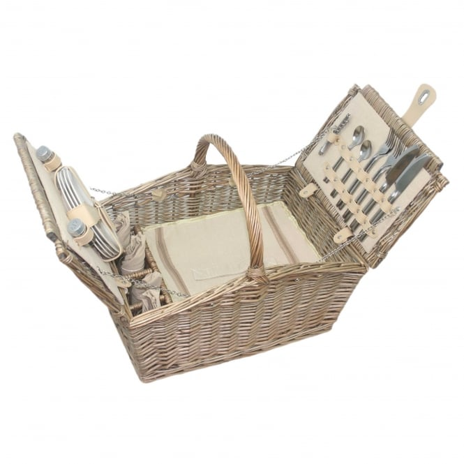 Click to view product details and reviews for Willow Direct Baskets Double Lidded 4 Person Picnic Hamper.