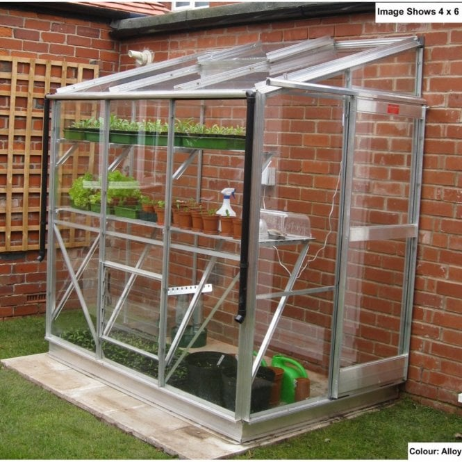 Click to view product details and reviews for Windsor 4ft 4ins Wide Lean To Greenhouse Package Deal.