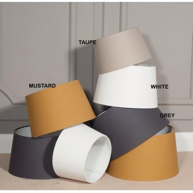 Click to view product details and reviews for Winston Tapered Cylinder Light Shade 35cm.