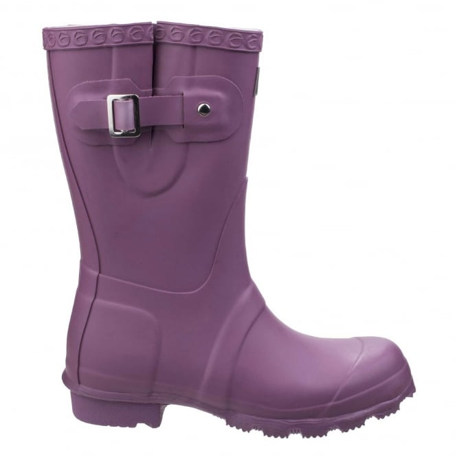 Women's Windsor Short Wellington Boots in Purple