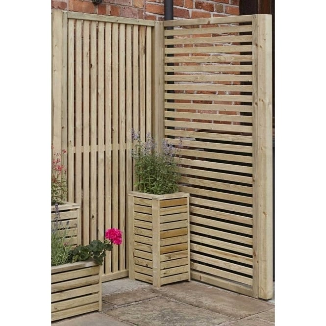 Click to view product details and reviews for Wooden Slatted Screen Panel.