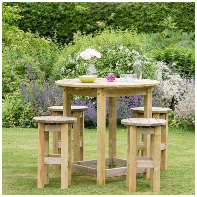 Click to view product details and reviews for Zest 4 Leisure 4 Leisure Bahama Large Round Table And 4 Stool Set.