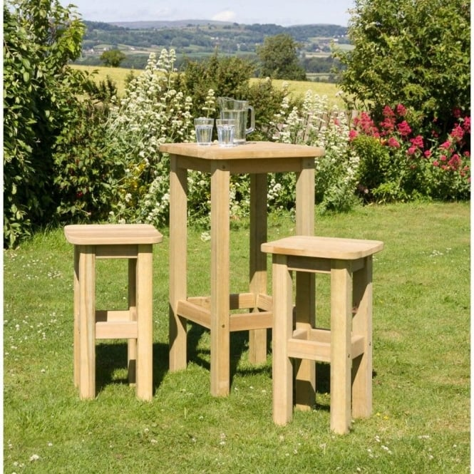 Click to view product details and reviews for Zest 4 Leisure Bahama Table And Stool Set.