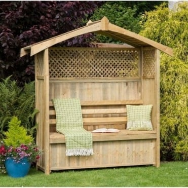 Hampshire Arbour with Storage Box