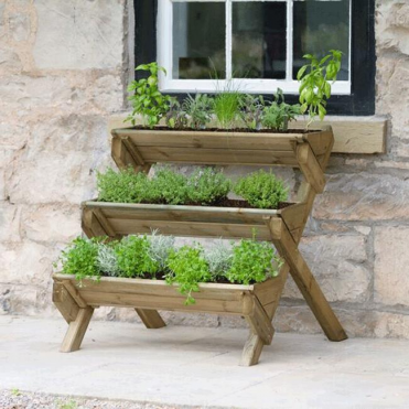 Zest 4 Leisure Stepped Herb Planter